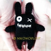 Handmade Amigurumi Creepy Bunny by HanaDesign1