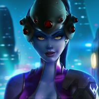 Widowmaker by krysdecker