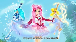 Precure Rainbow Floral Burst! by Bloom2