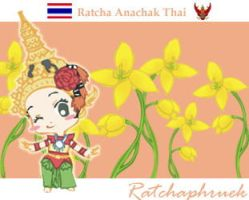 Flower of Thailand by refudger