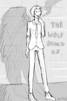 Sketch Dump 12 - Cry Plays the Wolf Among Us by NoizRnel