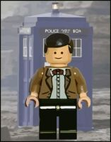 Lego 11th Doctor by gfoyle