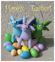 Espeon Easter by Fox7XD
