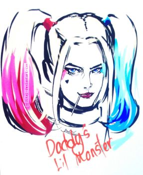 Daddy's Lil Monster by 3ikal