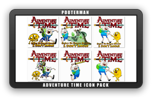Adventure Time Icon Pack by POOTERMAN