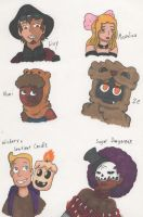 Haunted Library OC drawings 3 by Deterex525