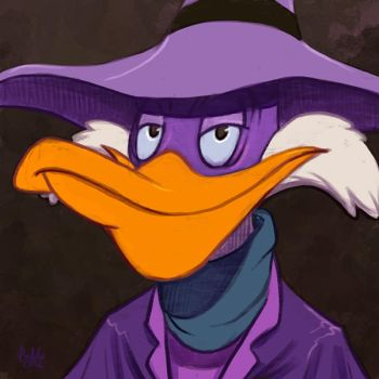 Daily Sketches Darkwing Duck by fedde