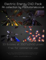 Electric Energy C4D pack by peewee1002