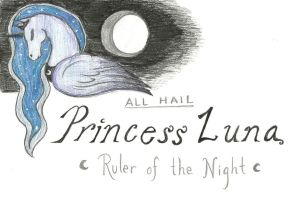 Princess Luna Banner by neighlikeahorse