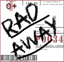 Rad Away Label by appleofecstacy