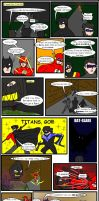 Batman and Bat-kids 03 by pipe07