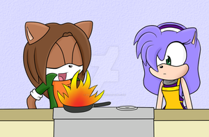 Cooking by DragonSouru