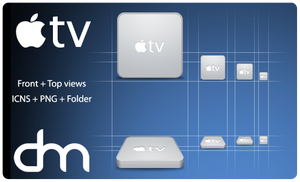 apple tv by D3LM3L