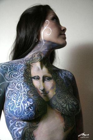 Body Painting Project - Monalisa