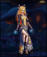 Blood Elf Mage by Asunaro
