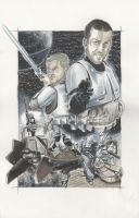 Star Wars - A re-newed hope Comission by idirt