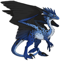 Flight Rising Skin- Poison Dart Wildclaw Female by NegativeDiamond
