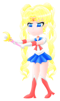 I have a wand (Sailor Moon) [transparent] 1 by MikariStar