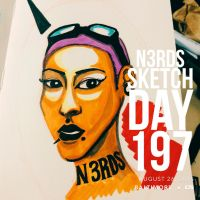 Sketch Day 197 by n3rdswithpapercuts