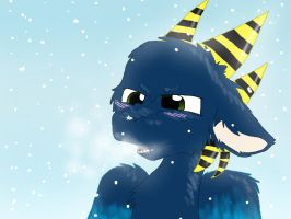 Anny is Angry at the Snowflake by LuneTheUmbreon