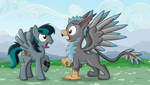 Gryph-ception! (Gryph meets Gryph) by BlackGryph0n