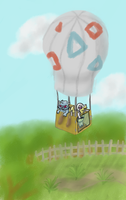 Taking to the air by Death-of-all