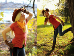 MLP - Applejack - Checkin them Apples by Kudrel-Cosplay