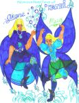 DX Divas Fairies - Misa and Akane of Water by Winter-Colorful