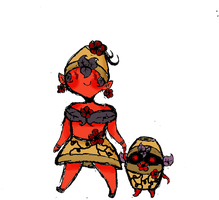 One of my Random Species lol: Potted Devils by Ask-MusicPrincess3rd
