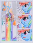 Fluttershy and the Rainbow Factory P. 34 by The1King
