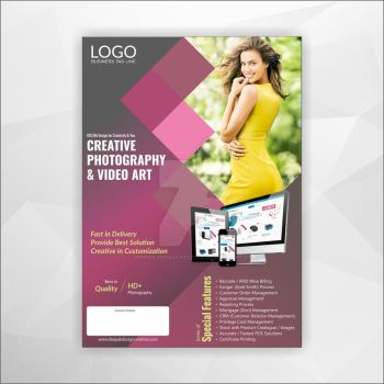 Corporate Photography Flyer Design-02 by Deepakvermacreative