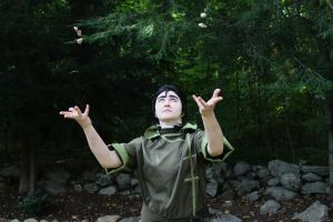 Bolin- Just a little earthbending trick by KorpseCosplay
