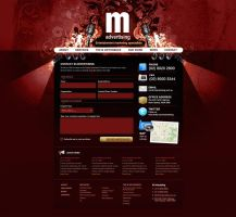 M Advertising Contact Page by scottrichardson