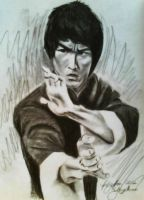 Bruce Lee Request by hatterfox