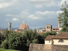 Firenze from Boboli Gardens 3 by nightshade-keyblade