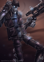 TF2: Sniper Bot by DarkLitria