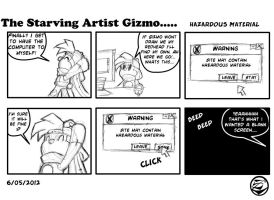 The starving Artist Gizmo 12 by culdesackidz