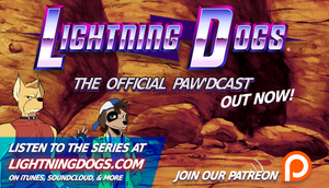Lightning Dogs: The Official Paw'dcast is OUT NOW! by lightningdogs