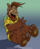 Gordon Shumway: Alf by filbarlow