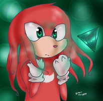 Knuckles by HollyBjeam