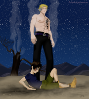Request- Laxus Training OC Wally by Mutsuki-K