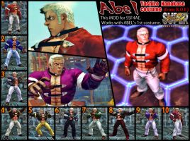 SSF4AE Abel Yashiro costume MOD by dsFOREST