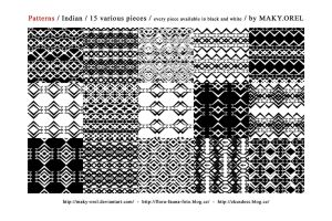 Patterns: Indian by MAKY-OREL