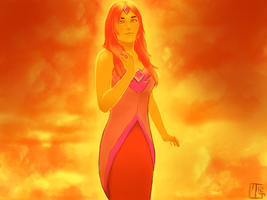 Flame Princess by Kaweki