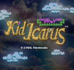 kid icarus title screen by likelikes