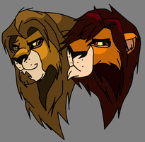 adult lions adoptables CLOSED by vitani211