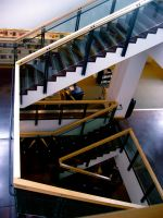 Library stairs 8 by Ninde