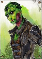 Thane ACEO by XMenouX