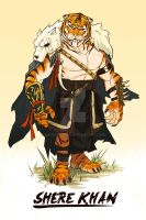 Shere Khan by AndrewKwan
