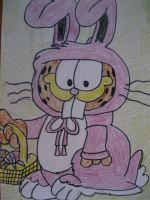 Easter Garfield by MihaiDorian